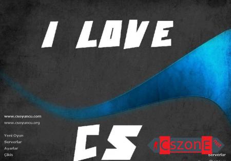 Тема меню Я люблю CS для CS 1.6