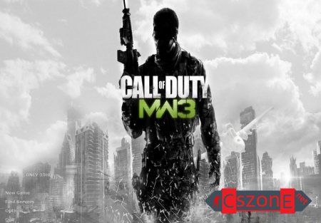 Тема меню Call Of Duty MW3 для CS 1.6