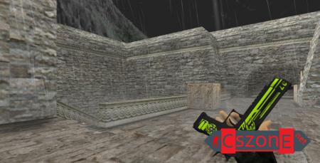 Модель Deagle Machine с анимацией осмотра для CS 1.6