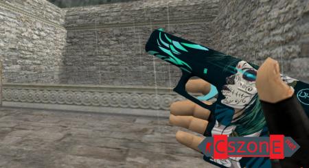 Модель HD Glock Lucy с анимацией осмотра для CS 1.6