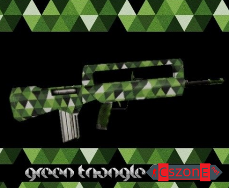 Модель Famas Green Triangle для CS 1.6