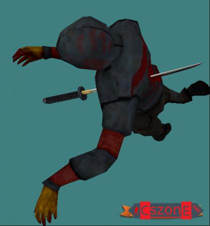 Модель зомби Охотник для CS 1.6